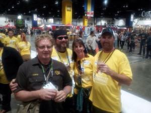 Larry and company at GABF